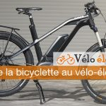 bicyclette au vélo-électrique