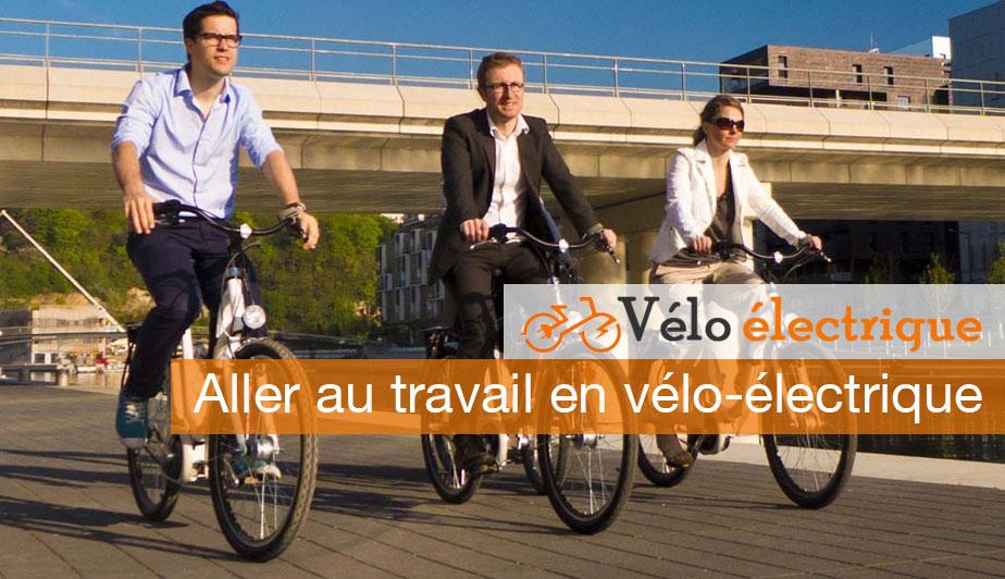 Aller au travail en vélo-électrique