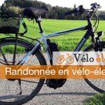 randonnée vélo électrique