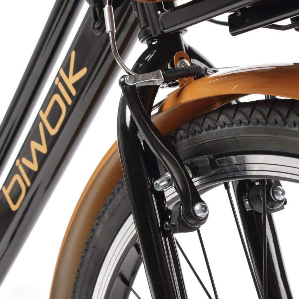 zoom sur vélo électrique Biwbik